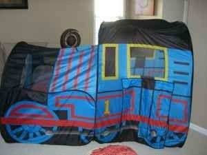 58u0027 x 73u0027 Thomas Train Pop-up Tent - $10 ... & 58u0027 x 73u0027 Thomas Train Pop-up Tent - $10 (Apex)   Toy Trains ...
