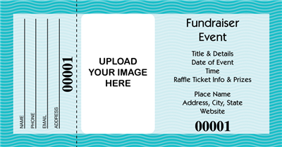 how to create raffle tickets