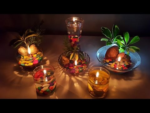How To Make Beautiful Water Candles At Home Safe And Easy Way Youtube Water Candle Diy Floating Candles Diy Candle Decor