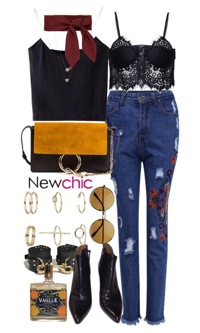 """""""New Chic 9"""" by nikka-phillips ❤ liked on Polyvore featuring Chloé, Alaïa and Miss Selfridge"""