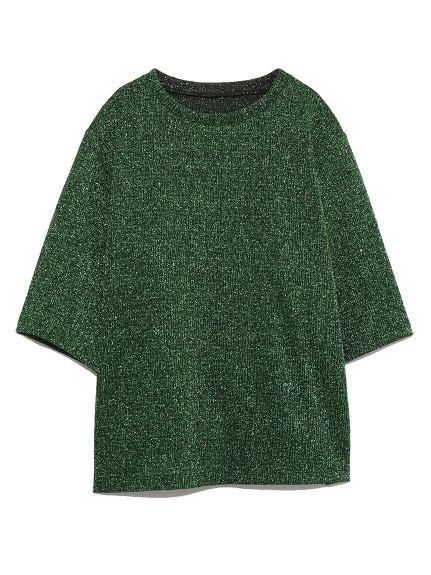 ラメトップス(カットソー) Lily Brown(リリーブラウン) ファッション通販 ウサギオンライン公式通販サイト