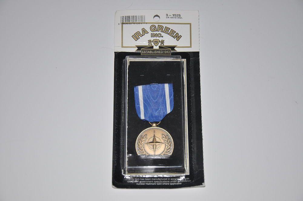 5 Free Shipping Nato North Atlantic Treaty Organization Metal New Ira Green Inc 3 1525 Usarmy Nwo Metal News Ebay Metal