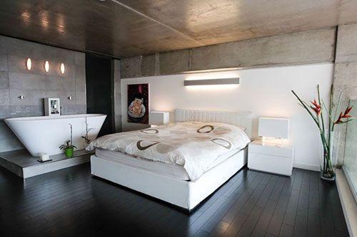 baD in slAApkaMer - Google zoeken   Badkamer master bedroom ...