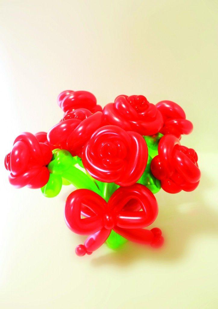 Balloon roses
