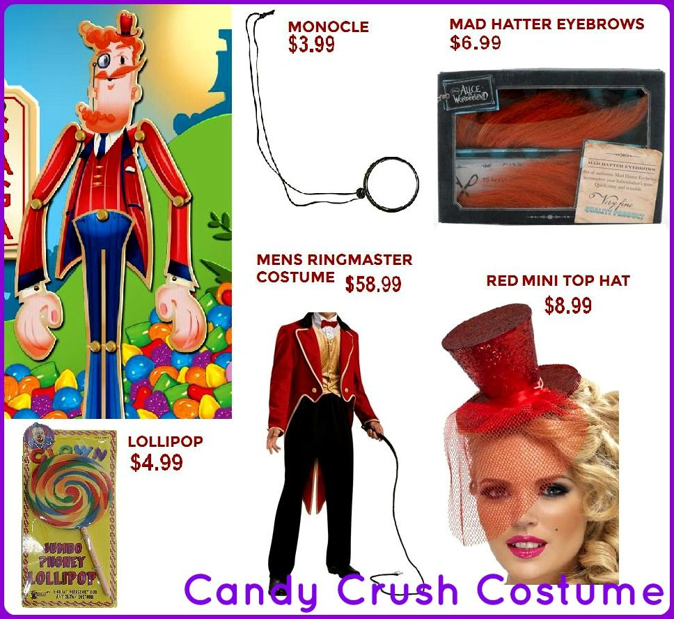 DIY Candy Crush Saga costume idea! Surprisingly simple using a ...