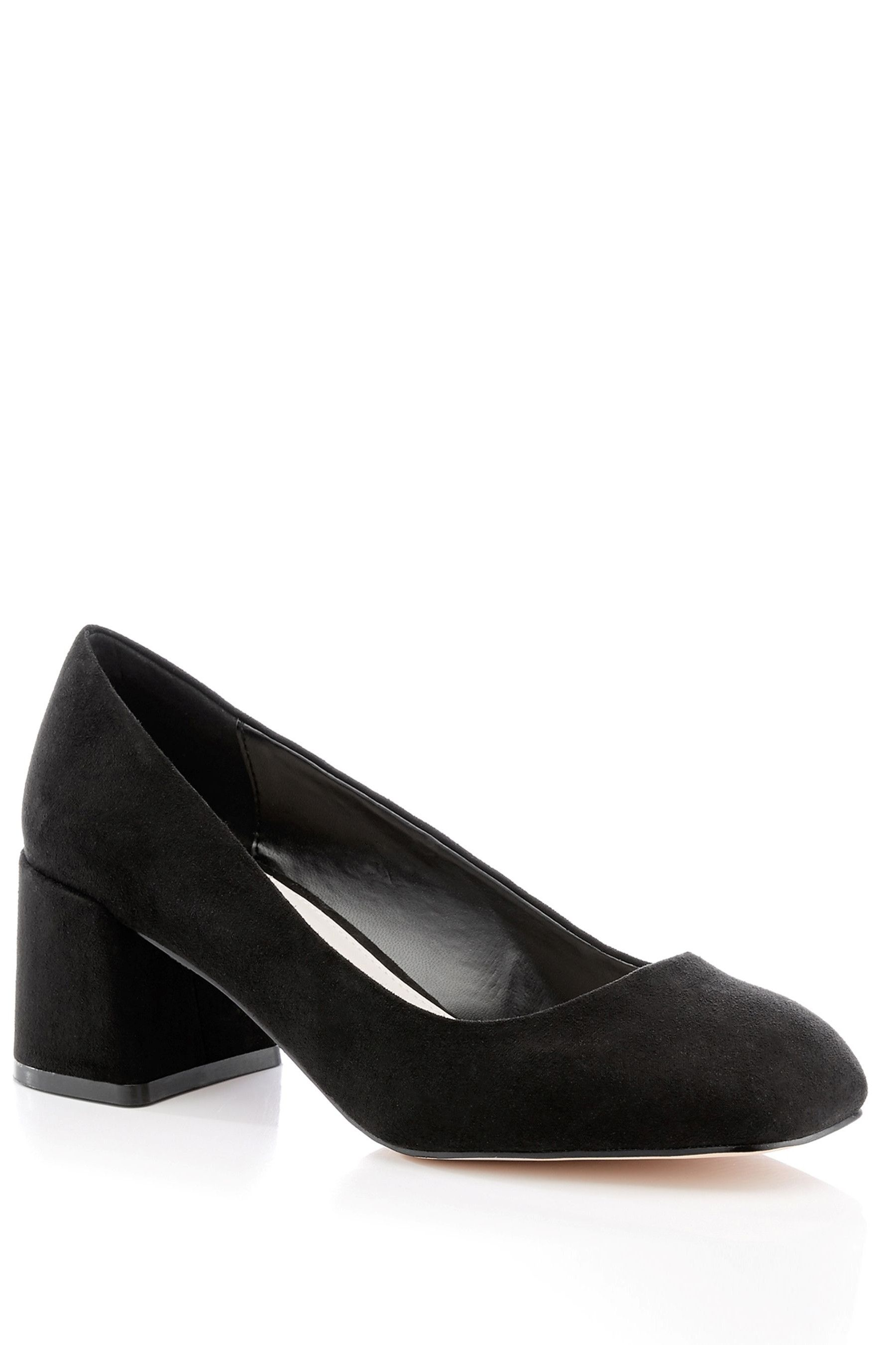 Womens Faith Wide Fit Square Heeled