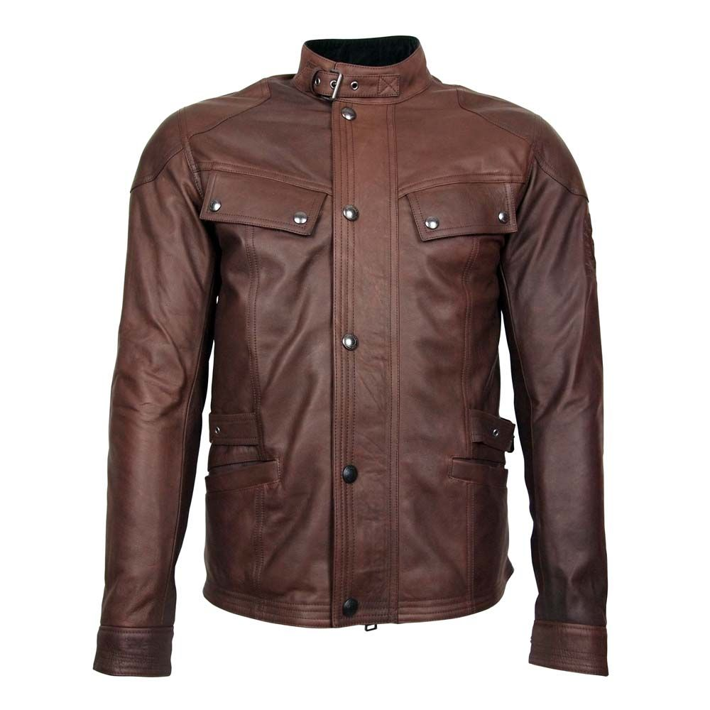 The Belstaff Crystal Palace Leather Jacket is a high quality leather jacket  new to the Belstaff