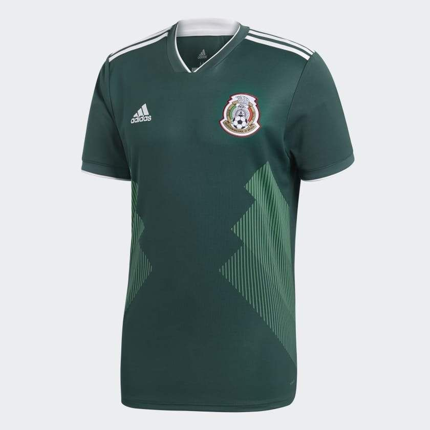 Adidas Mexico Home Jersey Fifa World Cup 2018 Soccer Jersey Mexico Soccer Jersey Soccer Shirts