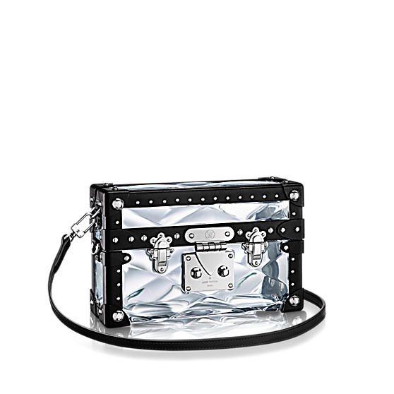 51e8408ee25a Louis Vuitton Transparent Plexiglass Petite Malle Stellaire Bag ...