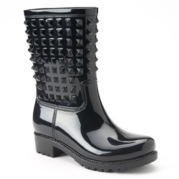 Bootsi Tootsi Studly Moto Juniors Water Resistant Rain Boots ...