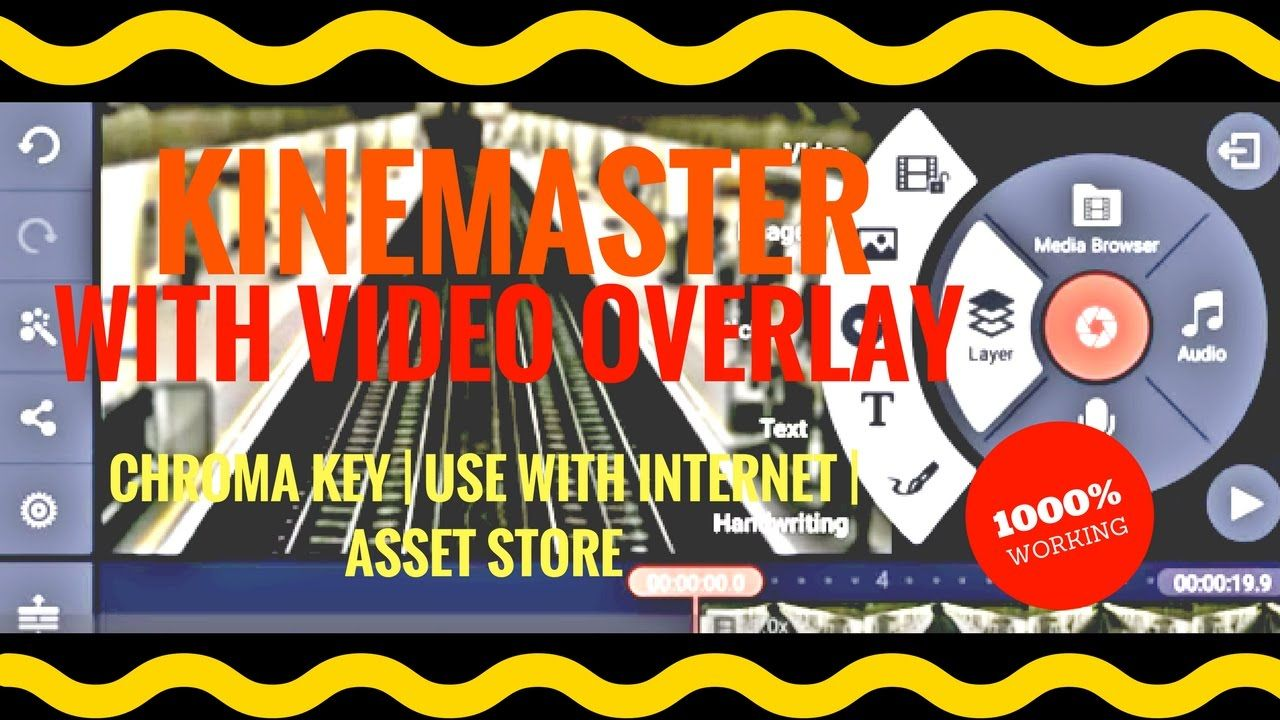 KineMaster with Video Overlay+NO ROOT+Green Screen+Net Enabled+Asset
