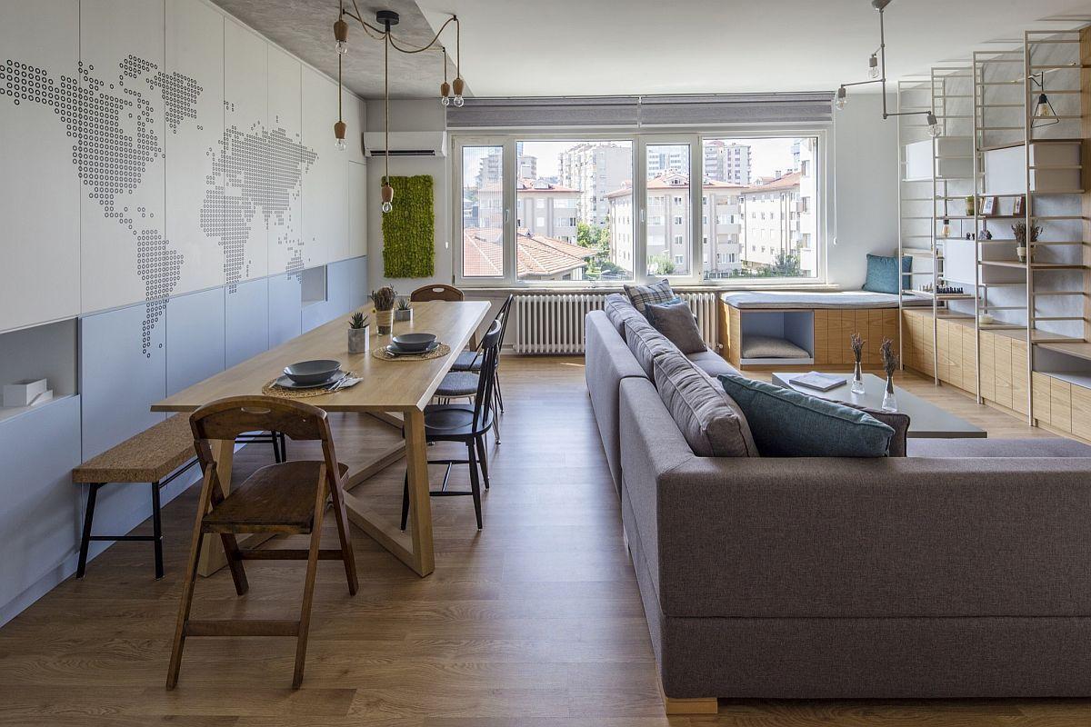 Renovated Istanbul Apartment Interior Design