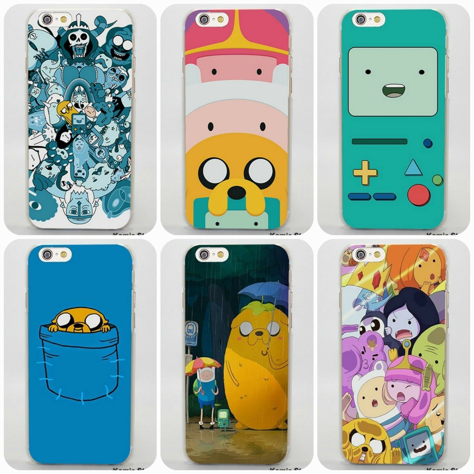 adventure time Beemo BMO Jake Finn Lumpy Case Cover For iPhone 5 6 ...