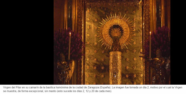 El 29 De Marzo De 1640 Ocurrió El Suceso Conocido Como Milagro De Calanda Pues El Cojo Miguel Pellicer Afirmó Que Por I Historia De La Virgen Del Pilar Virgen