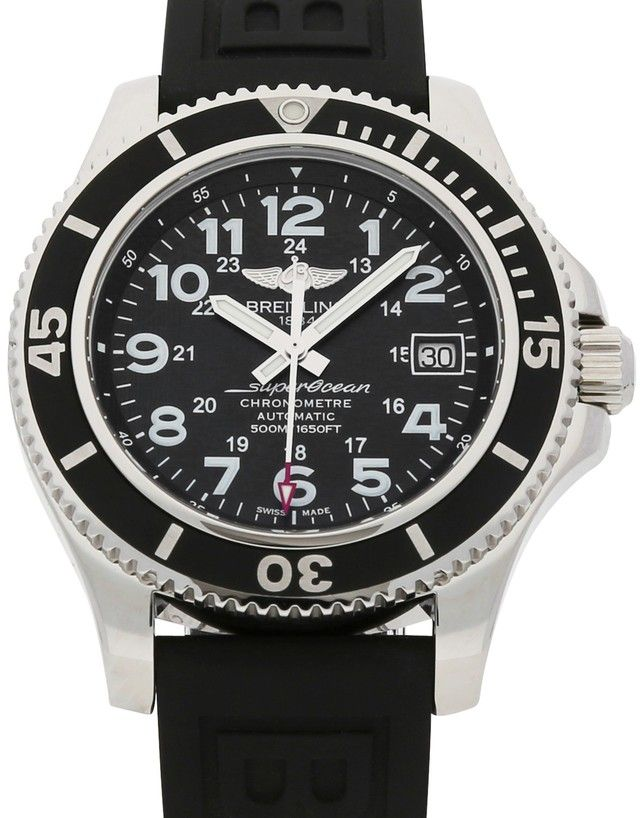 bbc24d29f27 Breitling Superocean II 42 A17365C9.BD67.150S.A18S.1 in 2019 ...