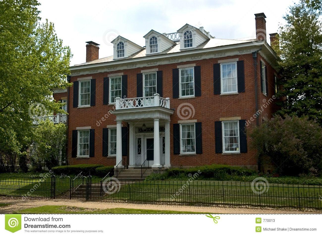 Federal Style Home Federal Style House House With Porch House Front