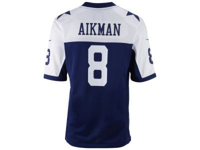 low priced 32e22 7e5a9 Dallas Cowboys Troy Aikman NFL Retired Game Jersey | cool ...