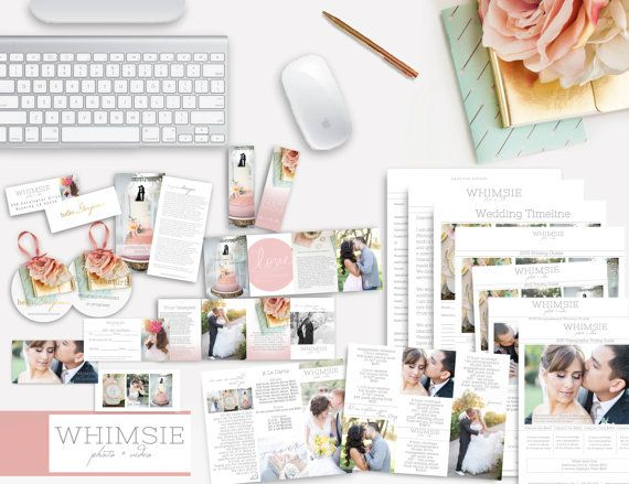 Brand New Beautiful Wedding Welcome Packet for by WhimsieDesigns