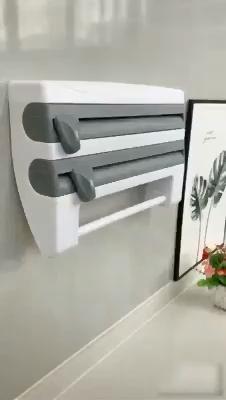 Kitchen Foil and Cutter Dispenser