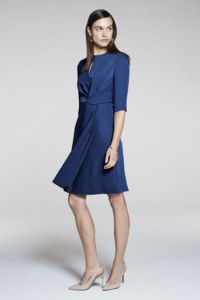 a0870d8186 Somerset Dress Prussian Blue