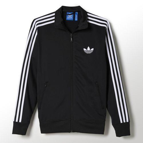 chaqueta chandal adidas negra
