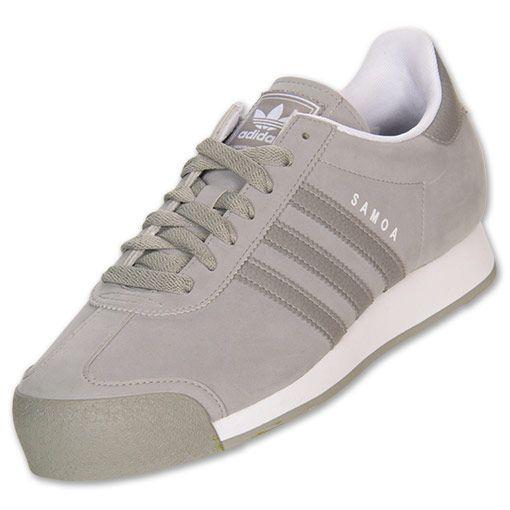 timeless design c059a 8904a Mens adidas Samoa Casual Shoes   FinishLine.com   Shifte Grey White