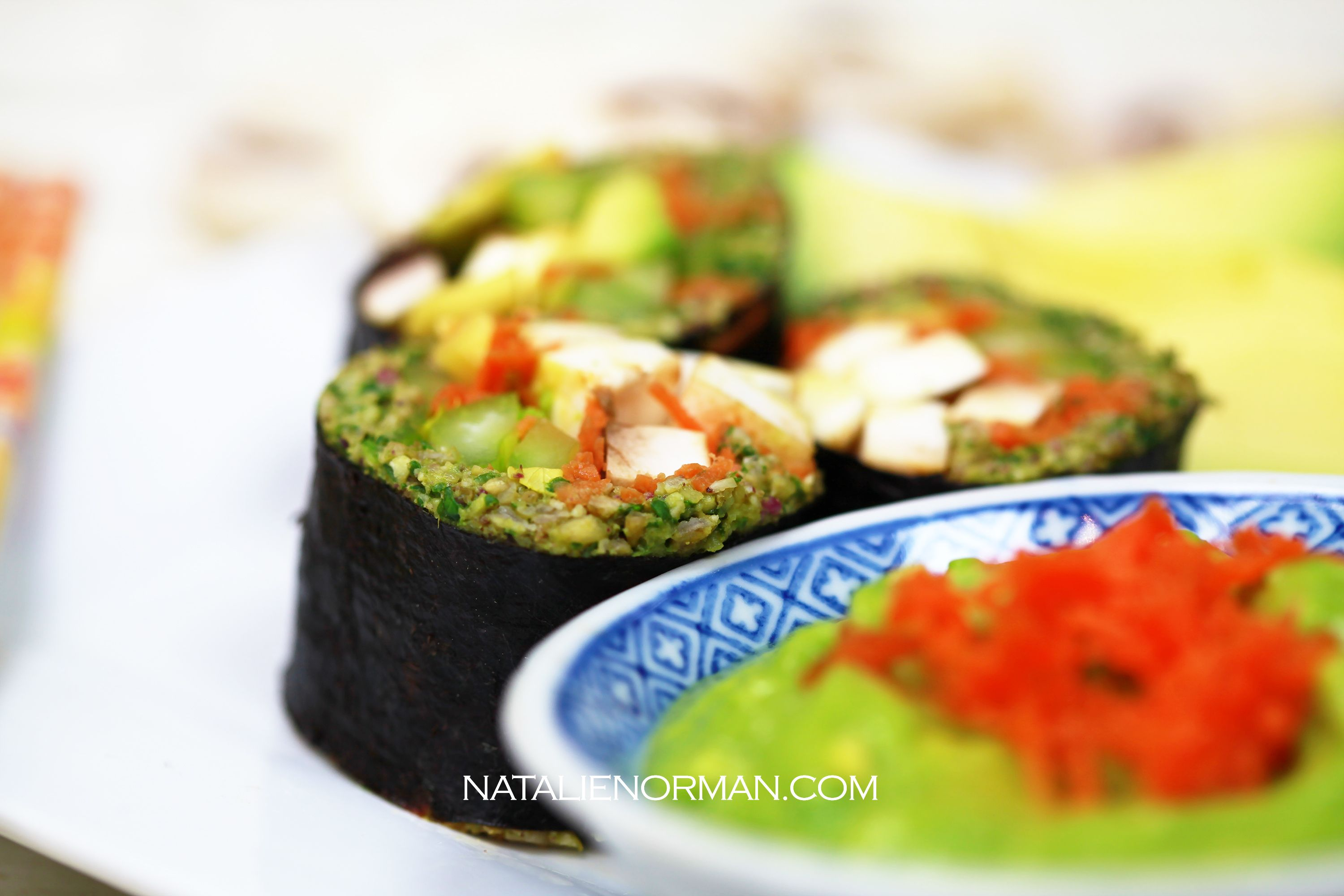 Southwestern sushi make this fast and easy raw vegan sushi thats a southwestern sushi make this fast and easy raw vegan sushi thats a perfect meal for forumfinder Gallery