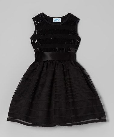 Take a look at this Black Sequin Dress - Infant 11a85c2376f4