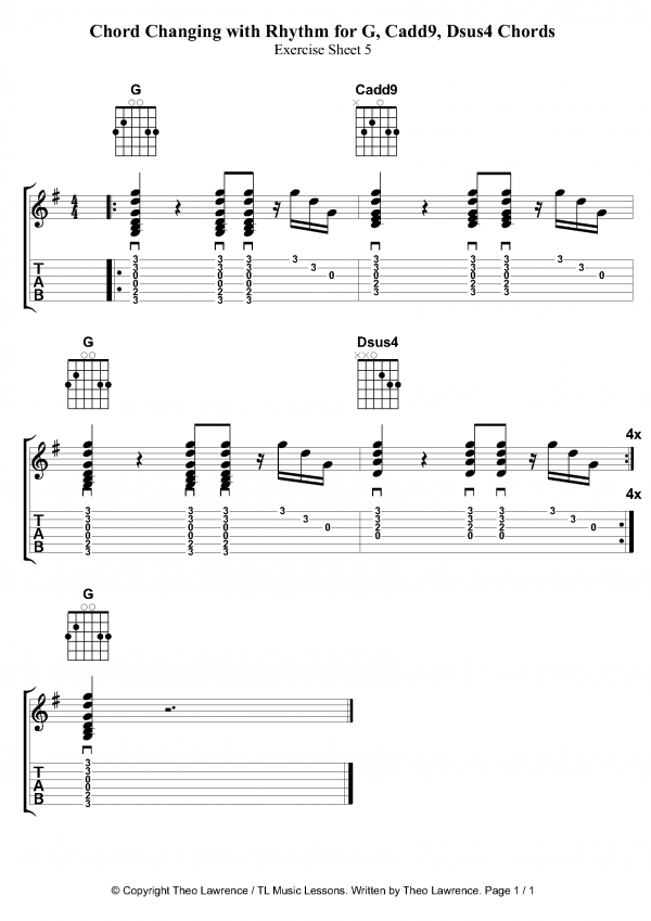 Guitar Chords Cadd9 Choice Image - guitar chords finger placement