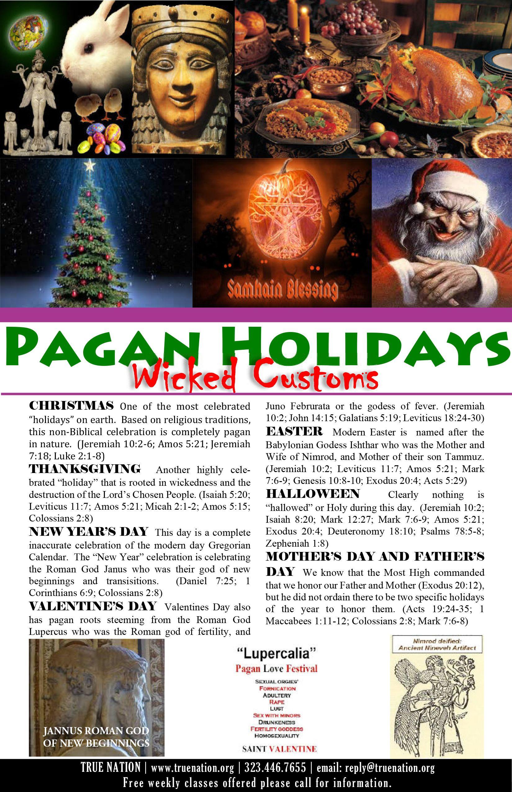 Pagan Festivals | Pagan holidays | Pinterest