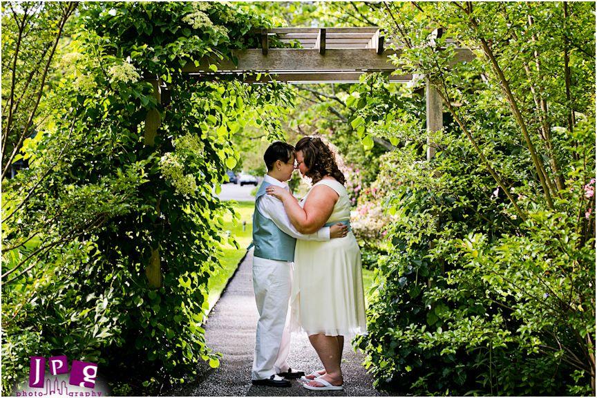 Bailey Arboretum Wedding Path