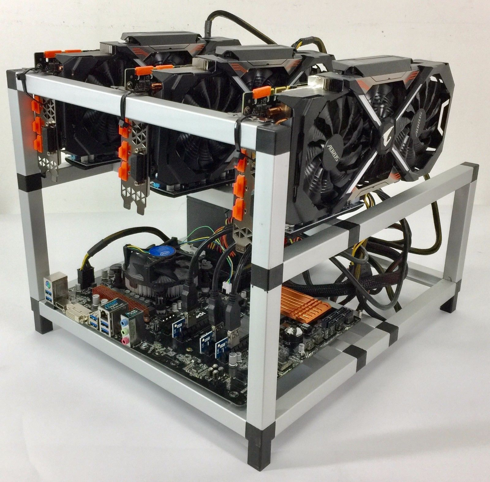 how to set up crypto mining rig