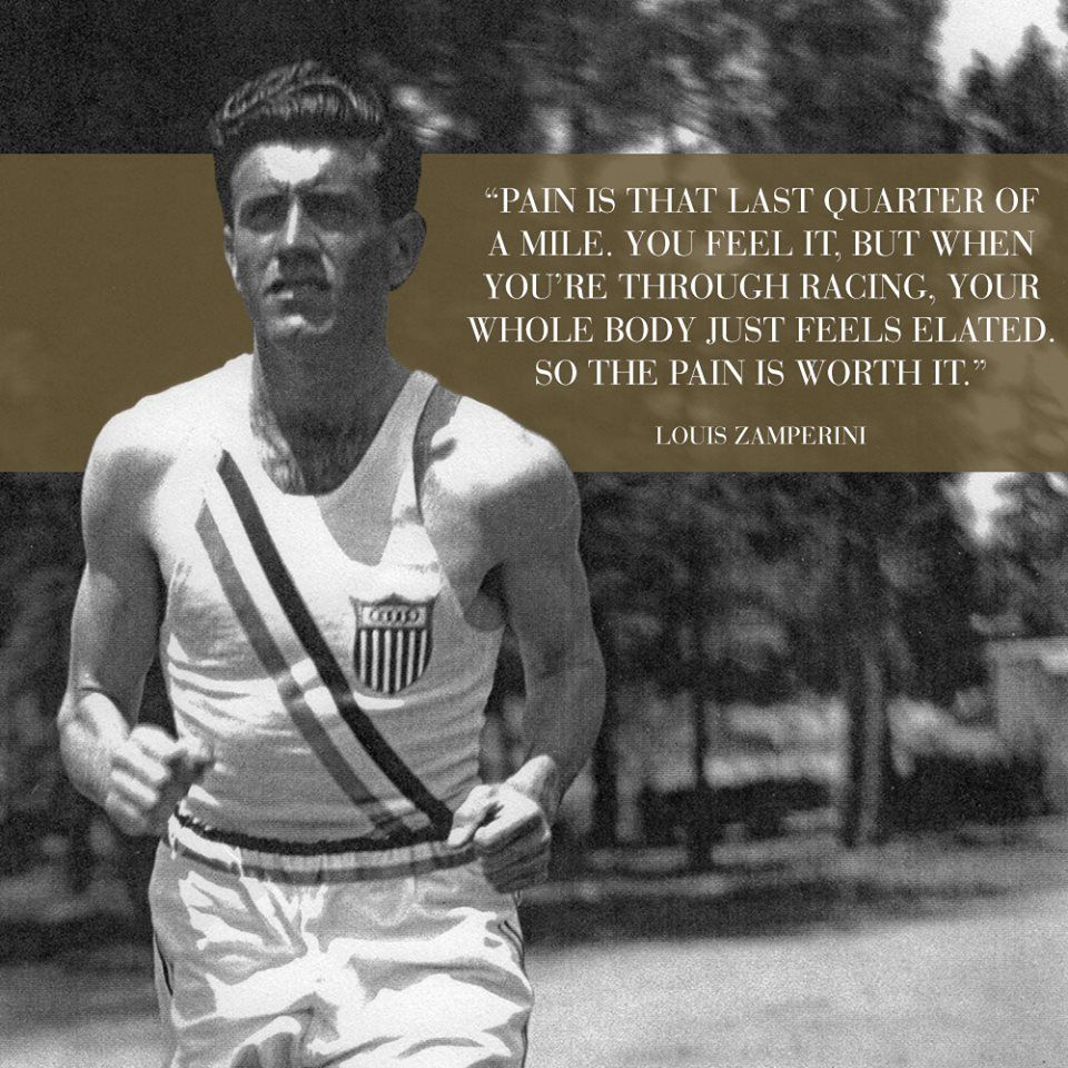 Unbroken Quotes Louis Zamperini  Google Search  Motivation  Pinterest  1936