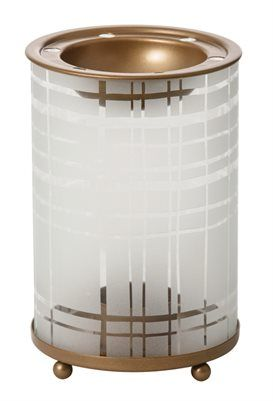 Copper Elegance Melt Warmer. Aromalampa från Yankee Candle.  Mått: Höjd 155 x b 100 x d 100 mm