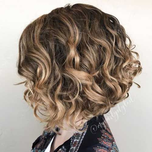 20 Latest Curly Bob Hairstyles Hairstyles 2020 New Hairstyles And