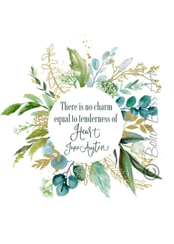 Jane Austen Quote: There is no charm equal to tend