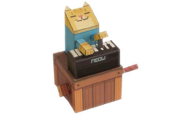 Papercraft keyboard cat ftw tutorials pinterest papercraft papercraft keyboard cat ftw altavistaventures Choice Image