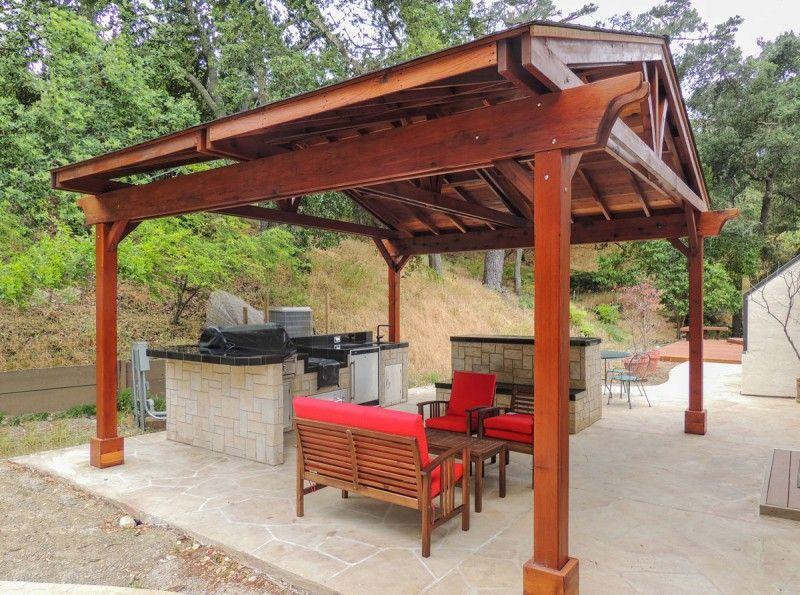 Del Norte Pavilion Kits Built To Last Decades Pergola Outdoor Pavilion Outdoor Covered Patio