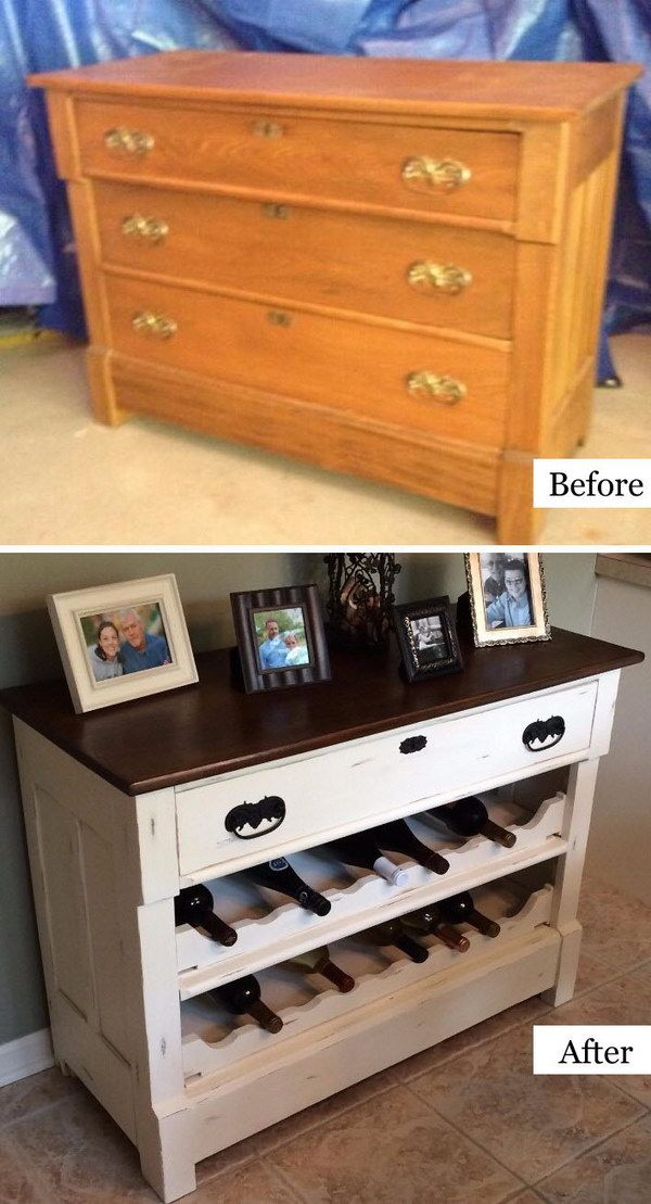How To Repurpose Old Furniture 40 awesome makeovers: clever ways with tutorials to repurpose old