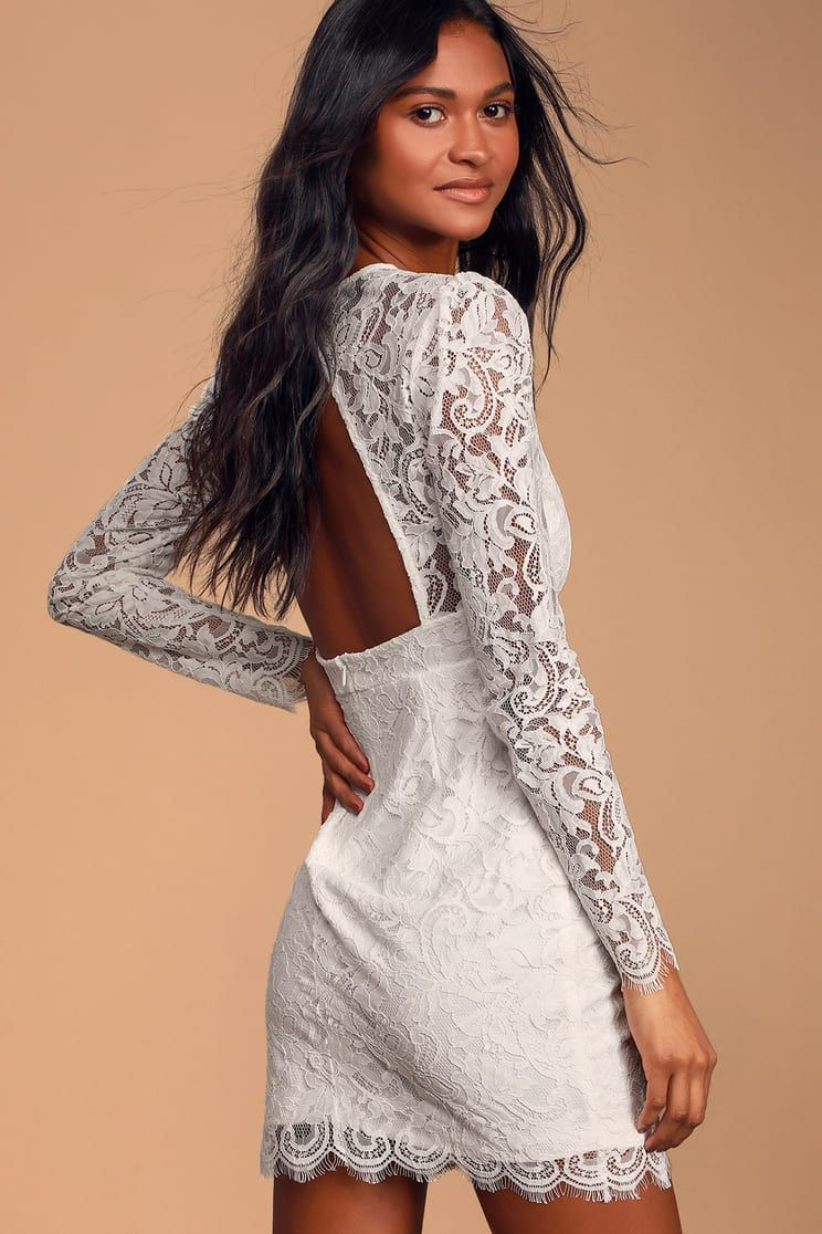 Blind Date White Lace Long Sleeve Bodycon Dress White Lace Long Sleeve Bodycon Dress Lace White Dress Long Sleeve Bodycon Dress [ 1116 x 744 Pixel ]