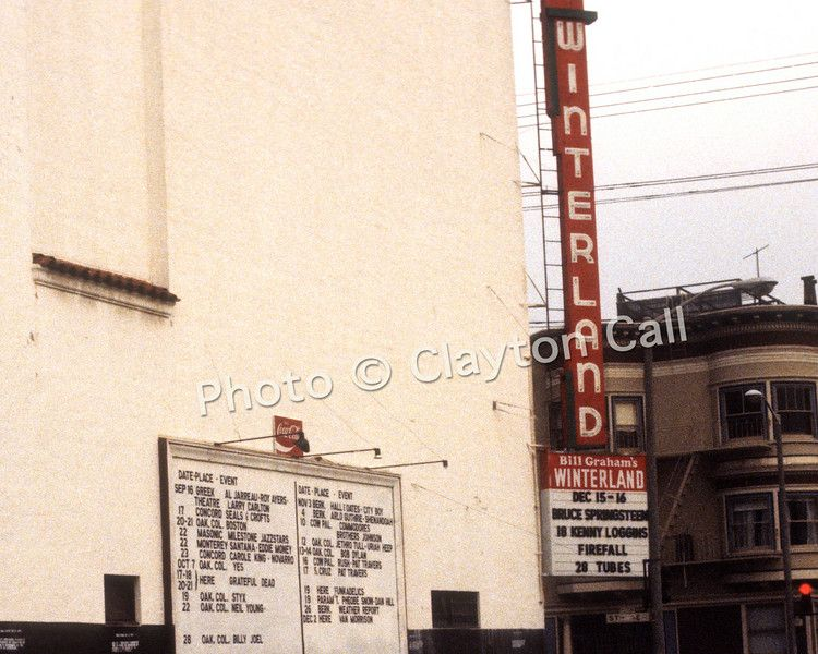 This Day In Rock History December 31 1978 Bill Graham S Winterland Ballroom In San Francisco Closes It S Door Zeppelin Classic Rock Posters San Francisco