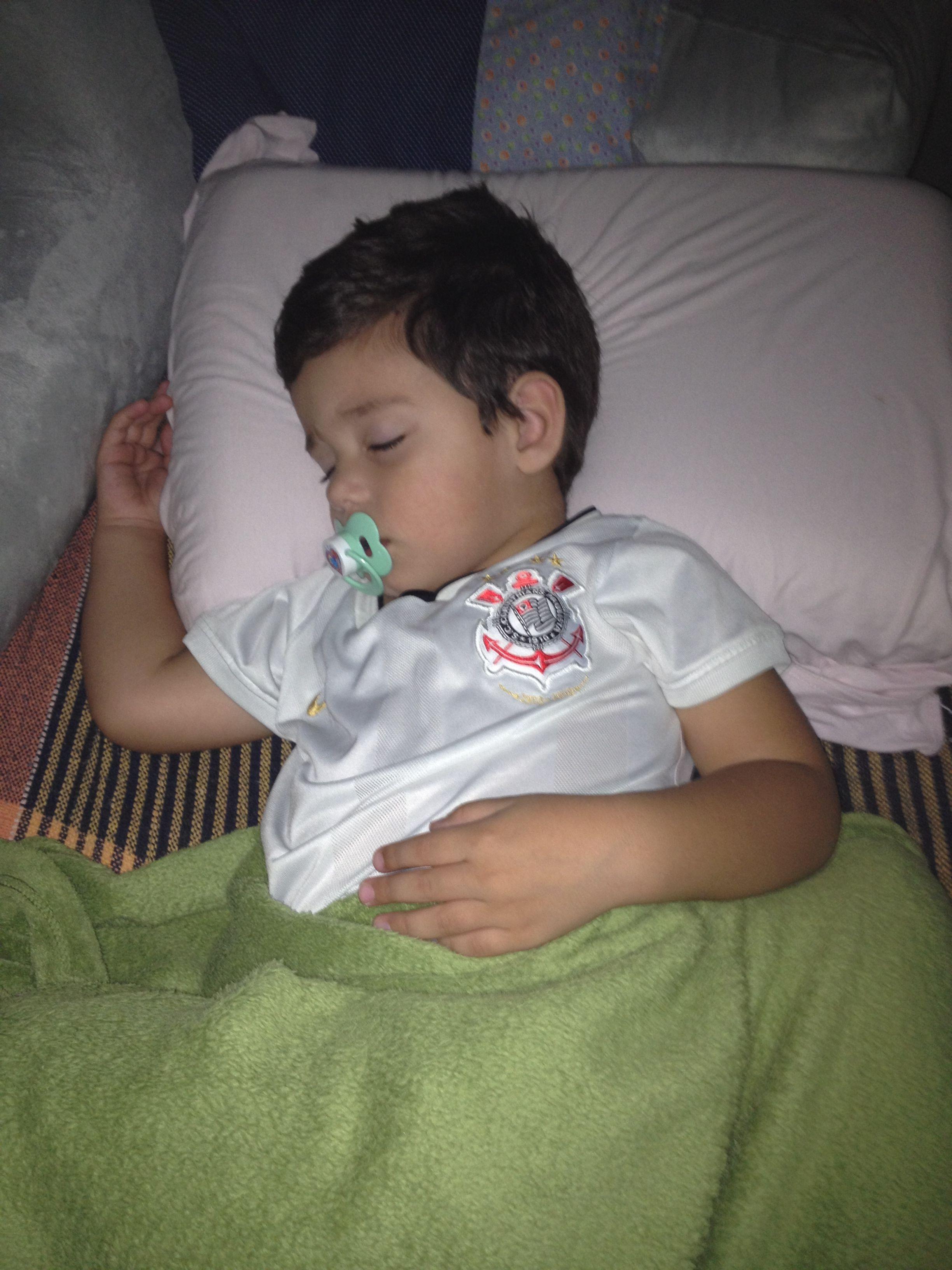 Davizinho no sono do Campeão da Libertadores !!!!