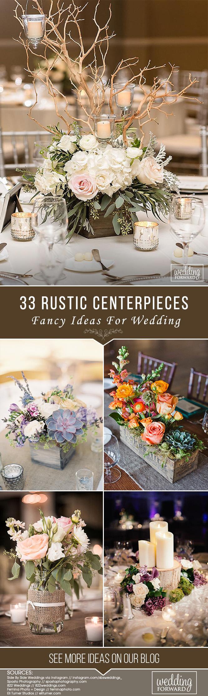 Wedding decoration ideas for home   Rustic Wedding Centerpieces Fancy Ideas  Home Hacks Decorate