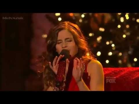 Carly Rose Sonenclar All I Want For Christmas Is You X Factor Usa Final Episode Carly Rose Sonenclar Carly Talent Show