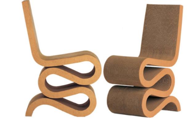Chaise De Table Chaise En Carton Mobilier En Carton Carton Plume
