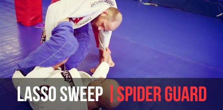 LASSO SWEEP | SPIDER GUARD #BJJ #MMA #Grappling #Judo #Jiujitsu #Brazilianjiujitsu