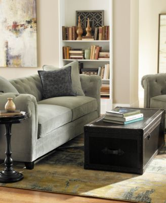 Martha Collection Saybridge Sofa 899 00 The Makings Of A Modern Romance Coquettish Shape Features Diamond Tufting And Lush Upholstery That