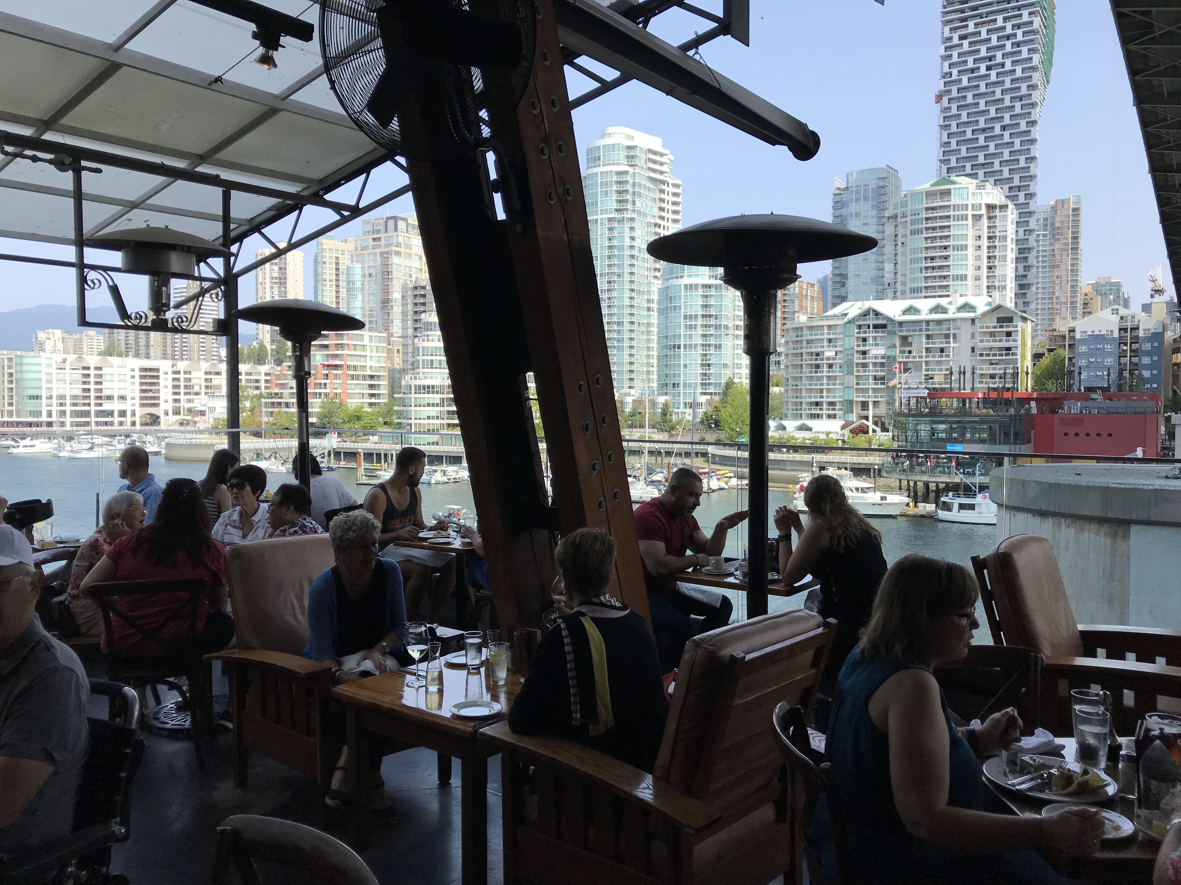 The Sandbar: Located on the northside of Granville Island, this two level  restaurant with both indoor…   Downtown vancouver, Vancouver restaurants,  City restaurants