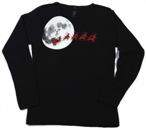 38.34$  Watch here - http://vinuz.justgood.pw/vig/item.php?t=xthn55219801 - Green 3 Women's Long Sleeve T-Shirt - Santa Moon - Large