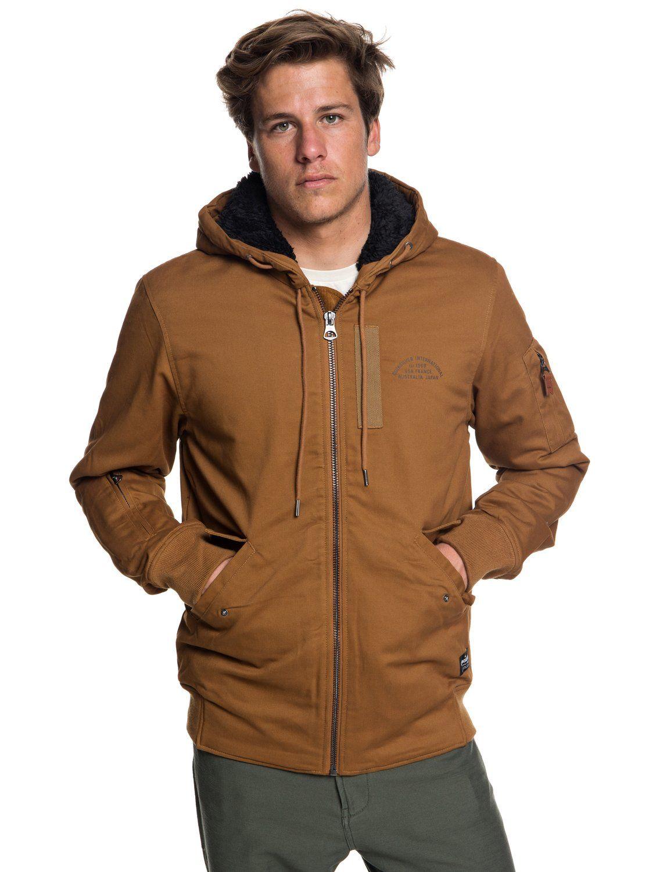 Hana Go Water Resistant Hooded Jacket Eqyjk03436 Jackets Mens Jacket Brands Faux Leather Hooded Jacket [ 1500 x 1117 Pixel ]